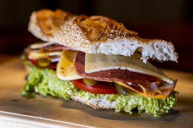 kanapka na diecie