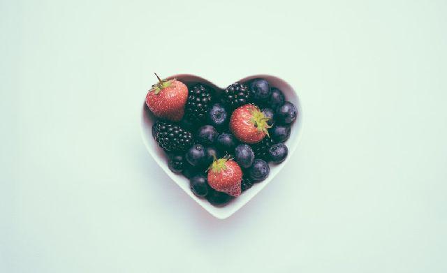 wpływ borówek na serce
